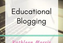 Educational Blogging / Information about blogs for teachers and students