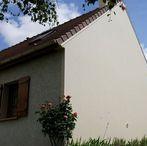 Ravalement et isolation du pignon d'une maison dans l'Essone