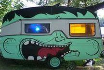 Pimp mijn caravan / Het is helemaal hip om je caravan te pimpen. De mooiste gepimpte caravans vinden hier een plekje