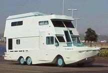 Bijzondere kampeermiddelen / Fietscampers, caravanboten, daktenten alle gave middelen om te kamperen van caravan tot tent horen hier thuis