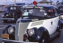 Classic police cars / Classic police cars from around the world