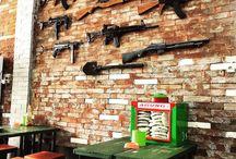 Kafe Militer 81 Indonesia / Military Cafe