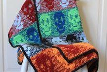 Crochet Skull Blanket Pattern