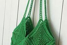 Crochet Tote Bag Pattern, Crochet Handbag Pattern, Crochet Purse Pattern