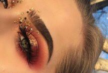 makeup / makeup, eyeshadows