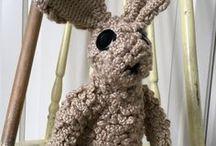 Crochet Bunny Rabbit PATTERN Pinterest, PDF, Crochet Toy Pattern, Amigurumi, Crochet Bunny, Crochet for Kids, Easter Crochet