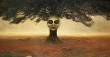 Beksiński - the best polish painter ever:)