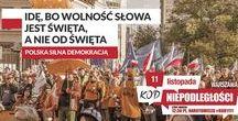 KOD Niepodległości 11 Listopada / https://www.facebook.com/events/1272882252745108/