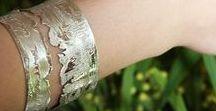 BRACELETS ESPRIT SUMI-E 墨絵 / Bijoux gravés à l'eau-forte, uniques, personnalisables, inspirés par l'art pictural traditionnel sino-japonais - CarOlinE PetitJeaN atelierbijouxcreateurs.com