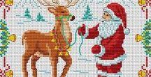 κέντημα μικρά / Χριστουγεννιάτικα μικρά μοτίβα κεντήματος