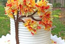 Fall Cake Recipes, Designs, and Desserts! / A collection of fall cake decorating recipes, cake decorating techniques, and fabulous desserts!