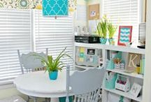 Home - CRAFT ROOM - Designs & Organization / by Cammie Jordan