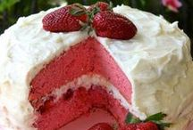 * strawberry and cherry delights * / strawberries strawberry recipes