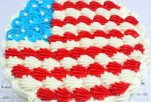 July 4th / Featuring the best ideas for July 4th Cakes, Cupcakes, and Desserts!