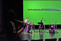 Hammer Presents / Hammer Presents is a series of interdisciplinary events produced by leading musicians, filmmakers, and visual artists.