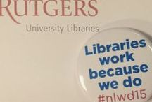 Rutgers University Libraries / News and Events from Rutgers University Libraries-  Piscataway/New Brunswick, Newark and of course, Camden.