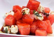 watermelon delights / by La Bella Vita Cucina | Roz Corieri Paige