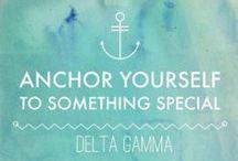 Delta Gamma. / by Kelsey