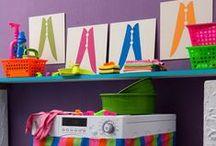 Laundry - Lavanderia /Área de serviço / by Jessica Santin - DIY Decoração