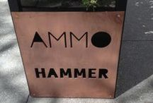 Ammo at the Hammer / Located adjacent to the Museum's tranquil courtyard, Ammo at the Hammer offers freshly prepared seasonal sandwiches, paninis, soups, and salads prepared with farmer's market produce and other locally-supplied ingredients. INFO: http://hammer.ucla.edu/about/hammer_cafe.html