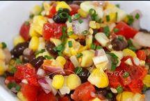 * corn & avocado recipes *