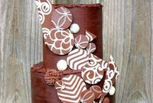 Chocolate Cakes and Desserts / A collection of fantastic chocolate cake recipes, cake decorating techniques, and dessert recipes!
