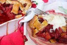 * rooting for rhubarb * / rhubarb recipes