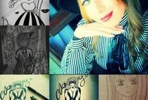 Art, draw, arte, dipinti, Music & Dance