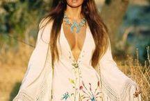 Boho - Bohemian chic - Gypsy - Hippie -70's - festival fashion