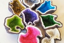Geode Cakes and Sweets / Featuring fabulous geode cakes and sweets- tutorials and inspiration