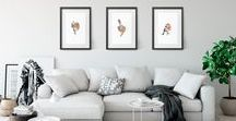 Modern Wall Decor Ideas / Great spaces with amazing wall decor