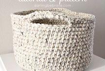 Crochet basket (바구니)