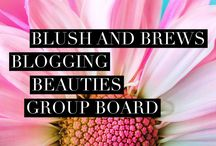 Blush and Brews Blogging Beauties Group Board / Please post your lifestyle pins/blogs! No post limit, but please repin 1:1 and no spamming! You will be deleted on your first offense.  To join follow me and send me a message, or email me at Kelli(dot)blushandbrews@gmail.com Please include your blog link and your pinterest profile link. :)   Would you like to join the Blush and Brews Babes Facebook group? Request here > https://www.facebook.com/groups/442232862885459/?ref=bookmarks