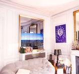 Miroir TV Salon / TV Miroir installés dans des salons ou séjours.