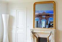 Trumeau Miroir TV / Ancien trumeau transformé en Miroir TV