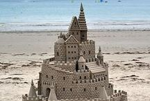 Amazing Sandcastles | Sandcastles That Are Truly Out Of This World! / Find your inner Gaudi with these AMAZING sandcastles. From proper castles fit for a prince or princess to animal sand sculptures. You will need more than a bucket and spade to build these sandcastles.