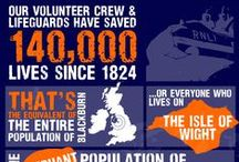 RNLI - The Amazing Work These Awesome Volunteers Do / The RNLI is a massive influence and part of living by the coast. Throughout the year, but especially the busy Summer they tirelessly work to save lives at sea. #respect