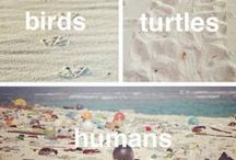 Beach Clean | Coastal Cleanup | No More Plastic Please / Keep our beaches clean. Stop the plastic pollution. Pick up litter every time you go to the beach - even if you haven't dropped it yourself. Love the sea.