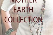Mother Earth Collection / The Prettiest Jewelry.  Don't forget to pin me!