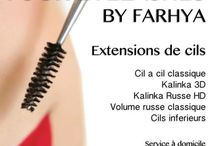 Your eyelashes by Farhya / Extensions de cils