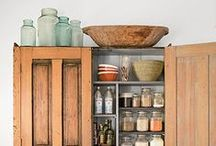 Practical Pantries / Storage and organization is a must!