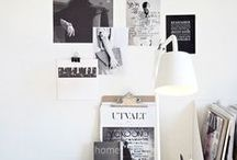 O F F I C E / Looking for great ideas, i'm a crafty girl! #cratfs #diy / by Corazones de Papel