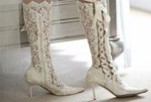 Lace Bridal Boots / Custom lace wedding boots, black lace boots, House of Elliot lace wedding shoes, vintage bridal shoes, handmade lace boots, over-the-knee lace boots, knee high lace boots, ankle lace boots, lace wedding heels, Scottish wedding boots, Victorian wedding boots, House of Elliot available in the U.S. exclusively at Advantage Bridal! / by Advantage Bridal