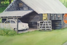 Barns / by Kathy LaGasse