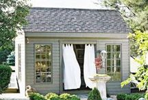 Garden Structures & Sheds / Jazz up that outdoor space!