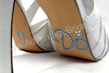 Wedding Shoe Stickers, I Do Decals / These are the hottest wedding accessory and we've got more styles and colors than you can imagine! Rhinestone wedding shoe stickers, bridal shoe stickers, groom shoe stickers, wedding shoe decals in LOTS of colors and designs – classic, humorous and whimsical! / by Advantage Bridal