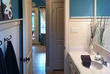 Bathrooms / ideas for bathroom / by Amanda Hunt