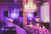 Pantone Colour of the Year - Radiant Orchid / by Helena Event Design & Styling