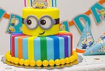 Minion Party Ideas / Stuck for Minions Party ideas?  Don't worry, we have collected sme pins to help you on your way.  Don't forget to take a look at our Minions Party in a Box for a fabulous, easy Minions Themed Party! www.childrenspartyinabox.co.uk