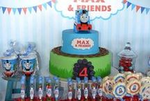 Thomas the Tank Engine Party / Great tips for the perfect Thomas Birthday Pary
